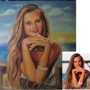 Портрет, пейзаж, натюрморт маслом на заказ по фото фото