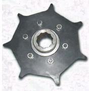 Приводная звёздочка приводной цепи (диск Тураса) всех стандартных чертежей. Приводная звёздочка приводной цепи (диск Тураса) -предназначена для привода баровой цепи в машинах типа RM-80 фото
