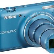 Цифровой фотоаппарат Nikon COOLPIX S6400 Blue фото
