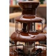 Шоколадный фонтан. фото