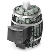 Дровяная печь Саяны Мини Carbon.Объем парилки куб.м.:4-9. фото