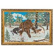 """Картина """"Охота на медведя"""" багет 46х66 см фото"""