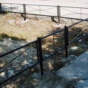 Металлические оградки фото