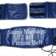 Пояса для похудения Sauna Massager 2 in 1 fitness фото