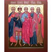 Икона именная Святые Праотцы фото