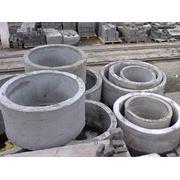 Кольцо стеновое для колодцев водопровода и канализации фото