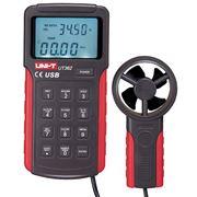 UT362 Измеритель скорости и объема воздушного потока анемометр фото