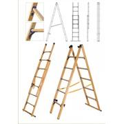 Лестница-стремянка универсальная диэлектрическая фото