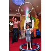 Шоу мыльных пузырей фото
