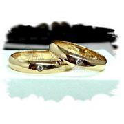 Обручальные кольца на заказ Артикул № 5115 фото