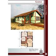 Дачные домики по Канадской технологии фото