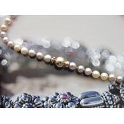 Профессиональная перевязка жемчужных ожерелий бус из янтаря и т.д фото