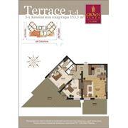 Шикарные квартиры с террасами. 3-комнатные квартиры на втором этаже фото