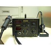 Термовоздушная паяльная станция Saike-852D+ с компрессором фото