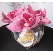 Орхидеи. Букеты орхидей. фото