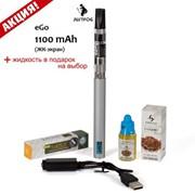 Электронная сигарета eGo 1100mAh ЖК-экран + жидкость фото