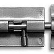 """Шпингалет """"Ликчел"""" прямоуг. ШП-40 черный муар 1-2643.ЧМ /150/ фото"""
