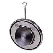 Клапан (хлопушка) обратный дисковый межфланцевый Ру16 фото