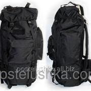 Рюкзак тактический рейдовый каркасный V-65л TY-065 Черный фото