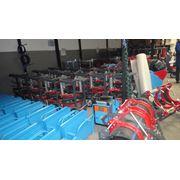Стыковые сварочные аппараты для полиэтиленовых труб фото