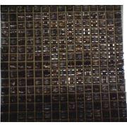 Мозайка стеклянная коричневая фото