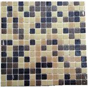 Мозайка стеклянная коричневая 4 цвета фото