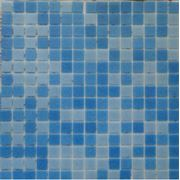 Мозайка стеклянная синяя 3 цвета фото