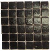 Мозайка стеклянная черная фото