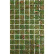 Мозайка стеклянная зеленая фото