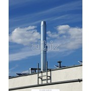 Гильзование дымоходных труб фото