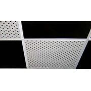 Потолки кассетные подвесные фото