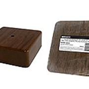 Коробка распаячная КР 100х100х44 ОП бук, с клем. колодкой, IP40, инд. штрихкод TDM фото