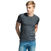 Мужская футболка-стрейч StanSlim 37 Тёмный меланж M/48 фото