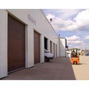 Ворота промышленные секционные от Cvantid SRL фото