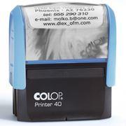 Прямоугольная печатьa Colop Printer 40 фото