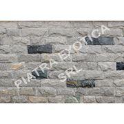 Камень натуральный облицовочный 5см скол цвет: Серый фото