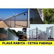 Plasa gard zincatСетка заборная оцинкованная фото