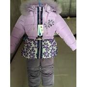 Комплекты зимние для девочек фото