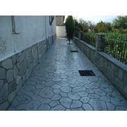 Плиты бетонные тротуарные фото