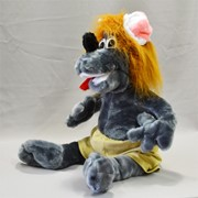 Мягкая игрушка, волк Афоня фото