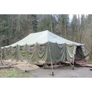 Палатка армейская брезентовая УСБ-56 фото