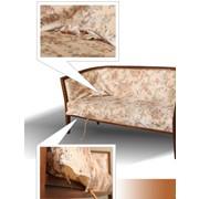 Перетяжка мягкой мебели недорого Киев фото