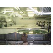 Рыбное хозяйство для выращивания осетра Осетровое хозяйство Рыбное хозяйство. фото