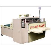 Машина для заклейки коробов из гофрированного картона Box-gluer machine оборудование для заклейки коробов из гофрокартона фото