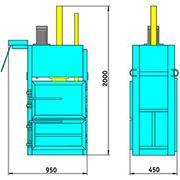 Пресс гидравлический пакетировочный ПГП-4 Мини фото