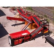 Комплексы по переработки ТБО железобетона дерева строительных отходов Hammel (Германия) фото