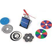 Электродвигатель, работающий на солнечной энергии фото