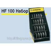 Набор твердосплавных борфрез HF100 фото