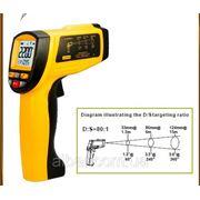 Лазерный цифровой термометр пирометр GM300 фото