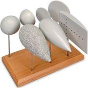 Набор тел для опытов по определению сопротивления воздуха и подъемной силы фото